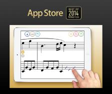 「タッチノーテーション」が「App Store Best of 2014 今年のベスト」に選出