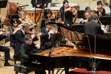 第9回浜松国際ピアノコンクールで、カワイフルコンサートピアノSK-EXを弾いた アレクサンデル・ガジェヴさんが優勝