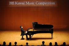 次世代ピアニストの発掘・育成を目的とした2016カワイ音楽コンクールSコース、三段階による審査方法を採用して全国大会を開催