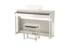 カワイデジタルピアノ『CN25』プレミアムホワイトメープル調仕上げ