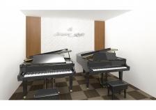 『カワイ横浜』2台グランドピアノレッスン室 イメージ
