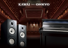 KAWAI&OnkyoコラボレーションによるカワイデジタルピアノCS−X1をフランクフルトメッセに出展