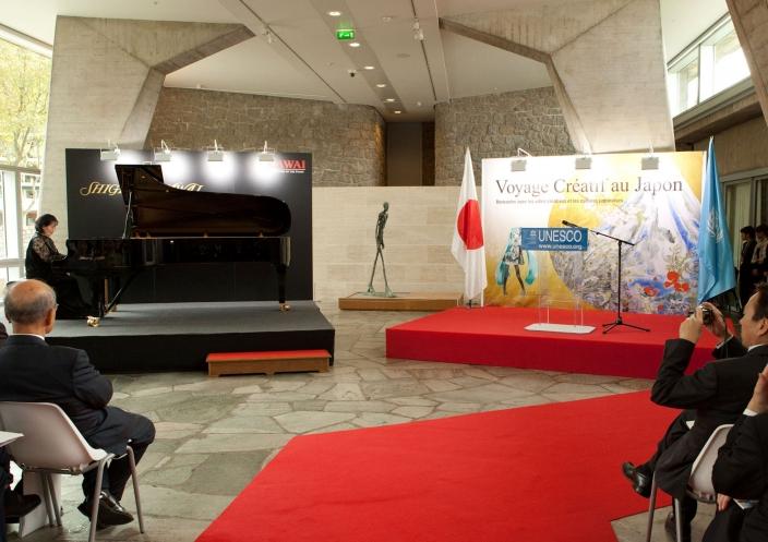 パリ・ユネスコ本部における創造都市国際交流事業<br /> 「日本へのクリエイティブな旅」協賛出展について