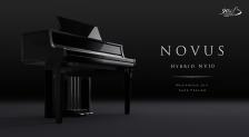 グランドピアノアクション搭載 ハイブリッドデジタルピアノ</br> 『NOVUS NV10』をフランクフルトミュージックメッセ2017に出展