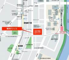 株式会社河合楽器製作所 東京オフィスアクセスマップ
