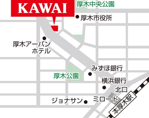 カワイ厚木地図4c