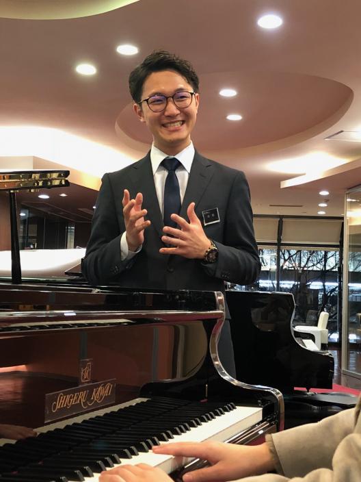 ピアノ販売、ピアノの先生のフォロー