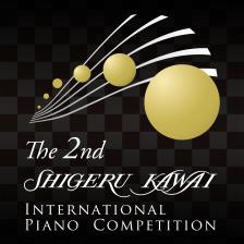 第2回 Shigeru Kawai国際ピアノコンクールロゴ
