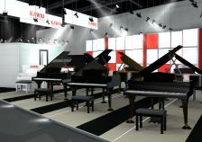 フランクフルトミュージックメッセ2018に </br>新たな楽しみを提供するアップライトピアノ『AURES』初出展