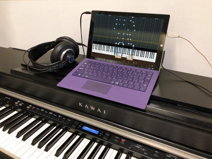 「あっ!弾けた」と思わず叫びたくなる。 </br>ピアノ独習ソフトウェア『ピアノマスターdp』新発売