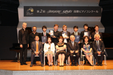 第2回Shigeru Kawai 国際ピアノコンクール受賞者