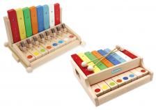 ピアノみたいなシロホン </br>新感覚の木製玩具『シロホンピアノシリーズ』新発売