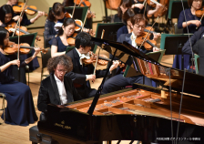第10回浜松国際ピアノコンクールで、カワイフルコンサートピアノSK-EXを弾いた ジャン・チャクムルさんが優勝