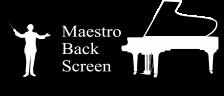 マエストロバックスクリーンロゴ