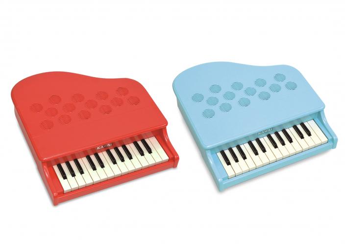 弾きやすさが向上し、ポップなカラーとデザインになって登場</br> ミニピアノ P-25 新発売
