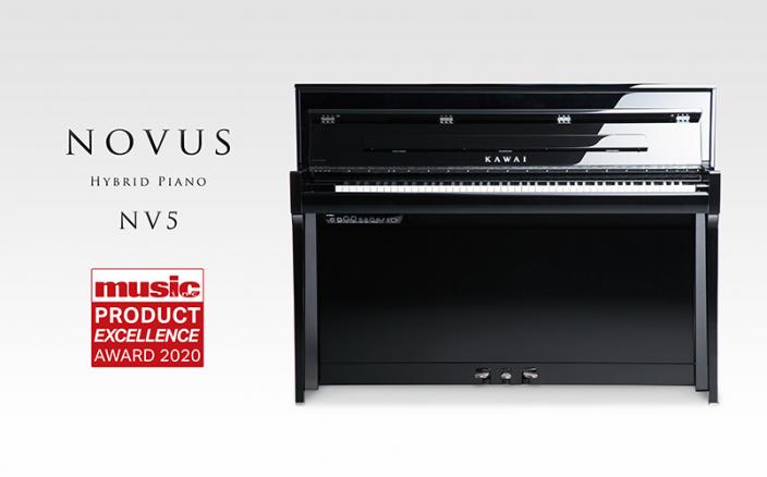 ハイブリッドピアノ『NOVUS NV5』がMusic Inc.誌の「Product Excellence」を受賞