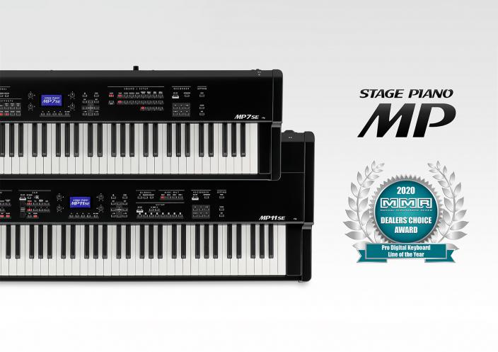 ステージピアノ『MPシリーズ』が</br>MMR誌の「Dealer's Choice Awards」を3年連続受賞