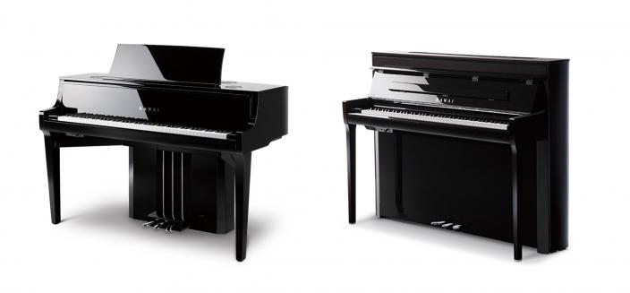 アコースティックピアノアクション搭載の </br>ハイブリッドピアノNOVUSシリーズが進化を遂げて登場 </br>『NOVUS NV10S』『NOVUS NV5S』発売